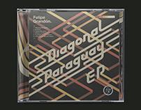 Cover design for Diagonal Paraguay