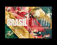 Brasil / On Fire / - Editorial Design
