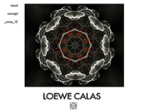 LOEWE CALAS CONCEPT VISUAL XMAS PROYECT LVMH