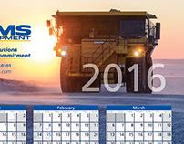 SMS Equipment, 2016 Calendars