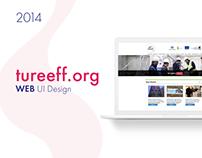 TuREEFF Web UI Design