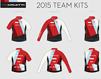 Team Caletti 2015 campaign