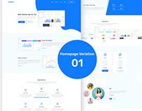AppSon - App Landing Page (Freebie)