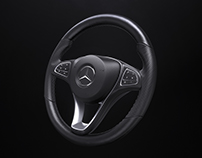 Product Shot - C-Class Steering Wheel