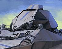 Imperial Akwa Wedge Attak Vessel