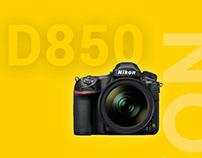Nikon Website Redesign