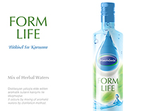 Mix of Herbal Waters Package Design
