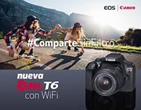 Campaña Rebel T6 - Canon