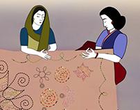 Quilting Ladies Animation