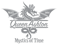 Queen Ashton Mardi Gras Dragon Logo