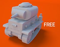 Mini Military Tank-02