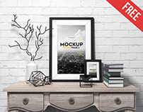 Picture Frame – Free PSD Mockup