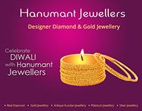 Interaction Design, UI/UX of Jewellery Diwali Card