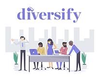 Diversify Website