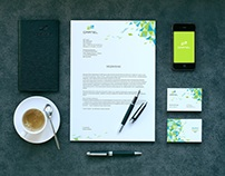 Brand book for cellular company Gartel
