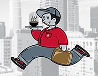 Urban Runner - Logo Poster