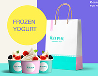 Corporate identity for frozen yogurt