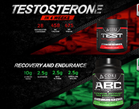 Banner Designs - Core Nutritionals