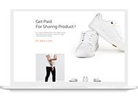Product Landing Design Concept