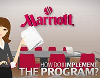 Marriott Storyboard Design