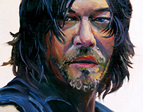 Portrait of Daryl Dixon