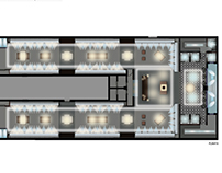 Lighting concept for Uterque