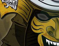 Samurai mask - Kabuto & Hoate