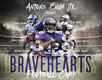 Bravehearts Football Camp