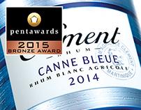 Clément - Canne Bleue, Millésime 2014