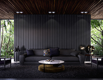 Minotti inspired interior