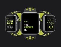 Apple Watch Nike Black / Volt