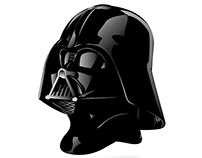 Darth Fener - Vectorial Illustration