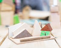 Архитектурный конструктор для детской мастерской