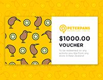 Peterpan's New Zealand gift voucher