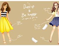 Dress up (1) : skirt