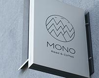 cafe MONO Branding