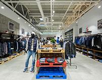 Stem — Освещение магазина брендовой одежды