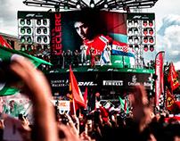 F1 Podium Animations - Italy 2019