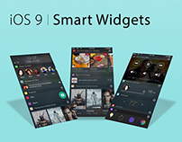 iOS 9 | Smart Widgets