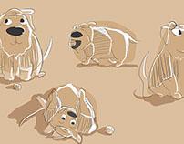 Baseball Golden Retriever doodles!