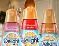 International Delight Banner Animations