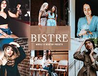 Bistre Mobile & Desktop Lightroom Presets