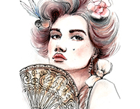 Watercolor portrait 1