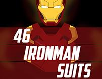46 CINEMATIC SUITS OF IRONMAN