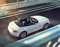 BMW Z4 - Full CGI & Retouching