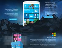 Windows App Development Web Page Design