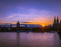 A nice evening in Cologne