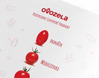 OVOZELA brand identity
