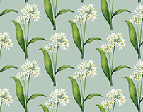 Wild Garlic Pattern