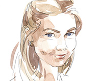Portrate of Olga Karpovich